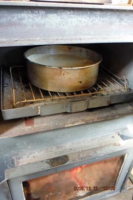 オーブン室