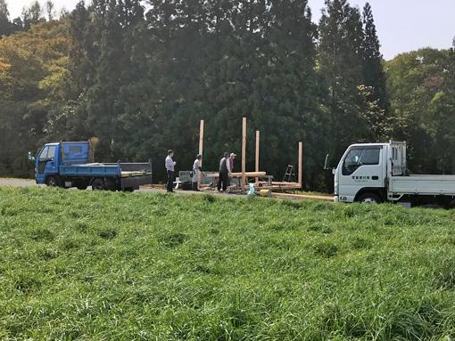 車庫建設1