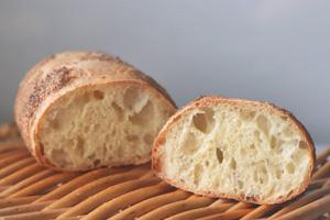 当園産小麦のパン2