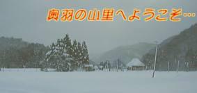 七内川の雪