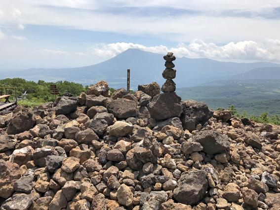 前森山から岩手山